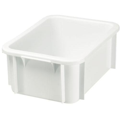 Plastback exkl lokk hvit 25-55 l