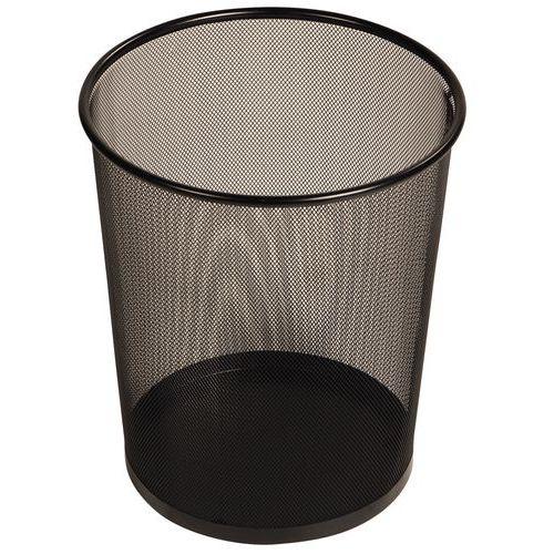 Søppelbøtte av wirenetting – rund eller rektangulær – 19 og 28 L
