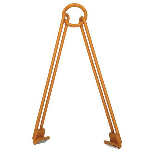 Vertikal og horisontal fatklemme med 2 fritt bevegelige armer – kapasitet 450kg