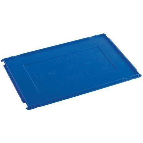 Lokk til Plastbakk blå