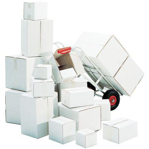 Kartong hvit