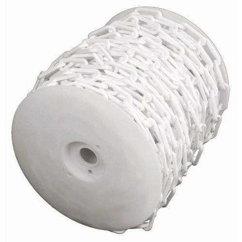 Plastkjetting hvit