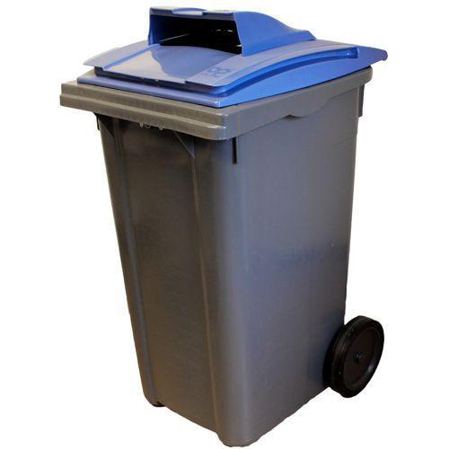 Avfallsbeholder med papirinnkast