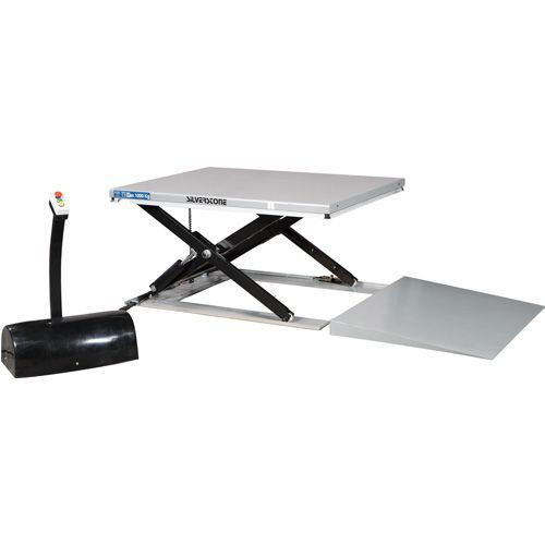 Løftebord med rampe lavprofil