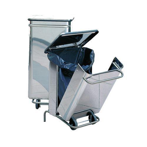 Søppelstativ med pedal