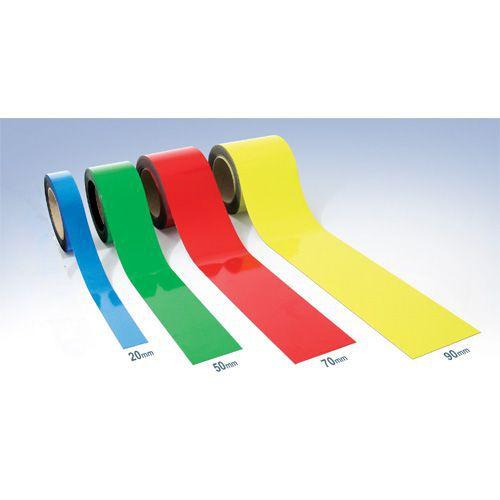 Magnetbånd for lager og hyller Easy-Wipe - Manutan