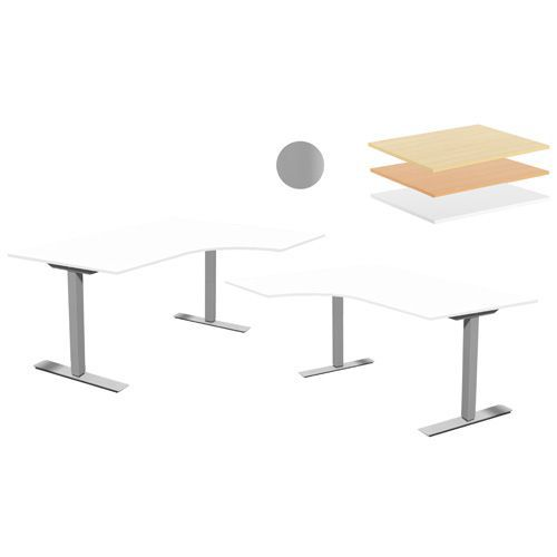 Hev- og senkbart skrivebord Two FB Høyre / Venstre
