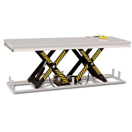Løftebord med horisontal dobbelsaks