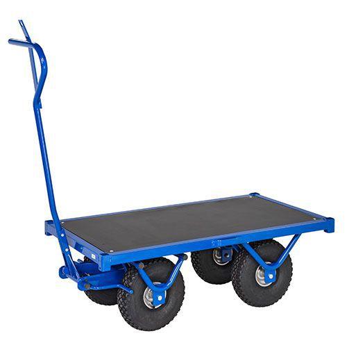 Transportvogn blå