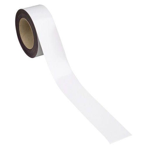 Magnetbånd hvit