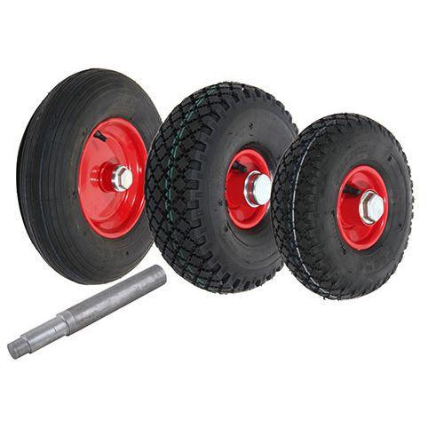 Luftgummihjul med stålfelg