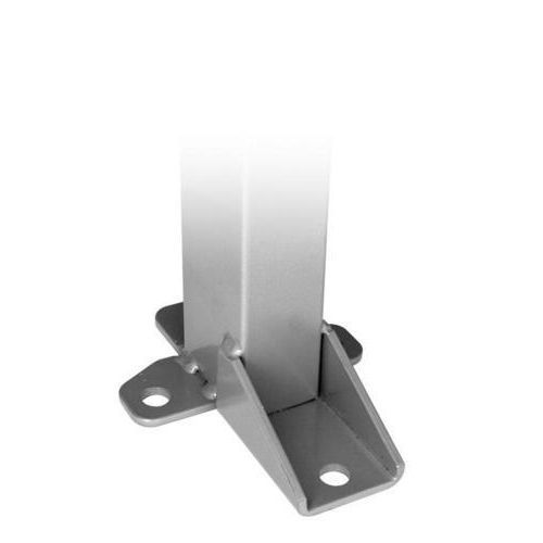 Stolpe inklusive stolpefot / Hjørnebeslag til montering av hjørne