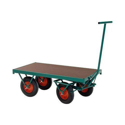Transportvogn, forhjulsstyrt