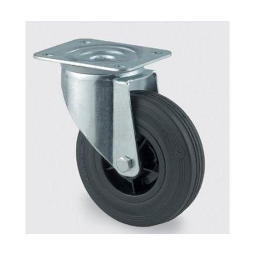 Luftgummihjul med plastfelg
