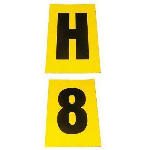 Selvheftende bokstaver og tall 140 x 230 mm