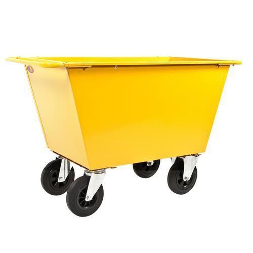 Avfallsvogner - Massive gummihjul