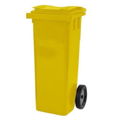 Avfallsbeholdere, kulørte beholdere