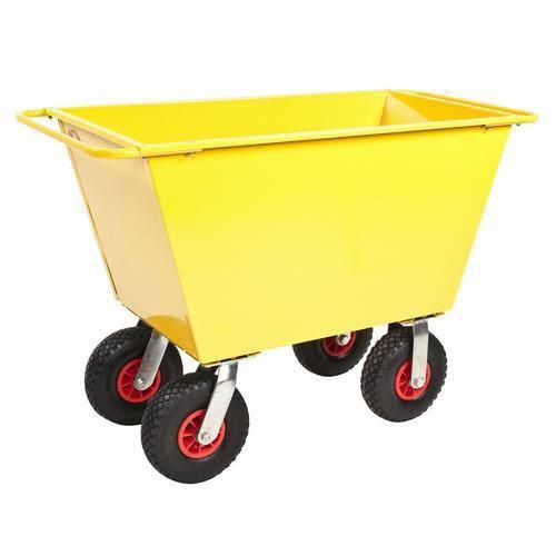 Avfallsvogner - Luftgummihjul