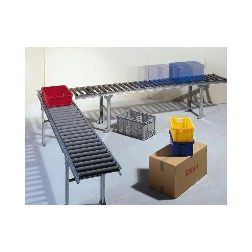 Transportbånd med stålruller