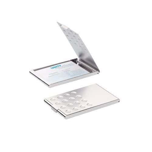 Visittkorteske Durable Chrome