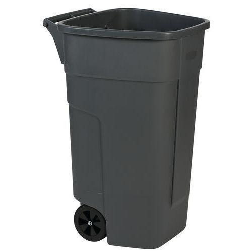 Avfallsbeholder Manutan 100 l, exkl lokk