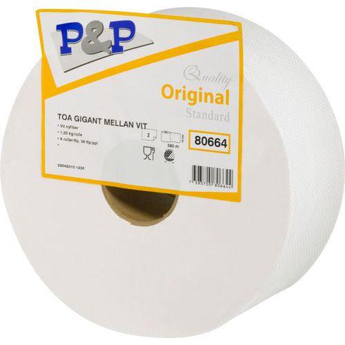 Toalettpapir Gigant Medium – P&P