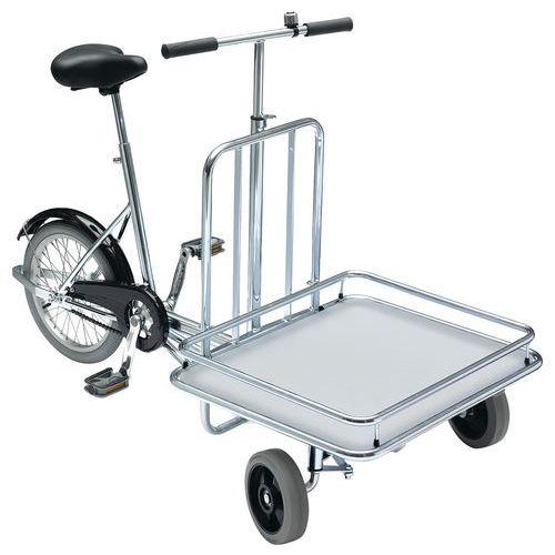 Sykkel med lasteflak, 3 hjul ErgoB
