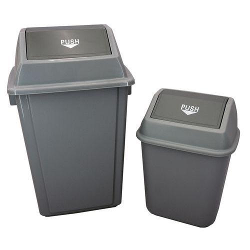 Søppelbøtte med vippelokk