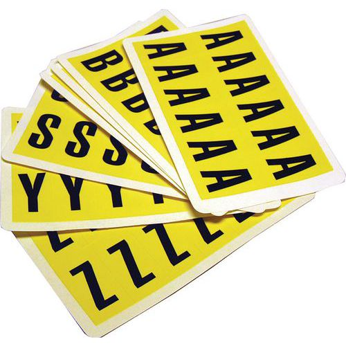 Komplette pakker med bokstaver A-Z