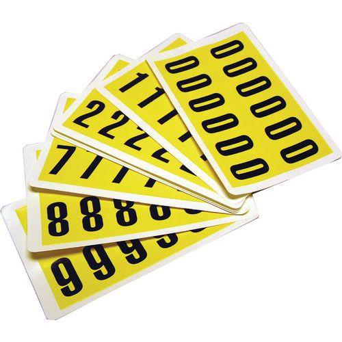 Komplette pakker med tall 0-9