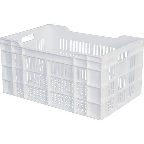 Plastbakk Perfo hvit 60 L