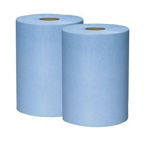 Ikatex tørkepapir, 3-lags, 2 ruller for vanskelig smuss