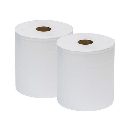 Ikatex tørkepapir, 2-lags, 2 ruller for middels vanskelig smuss