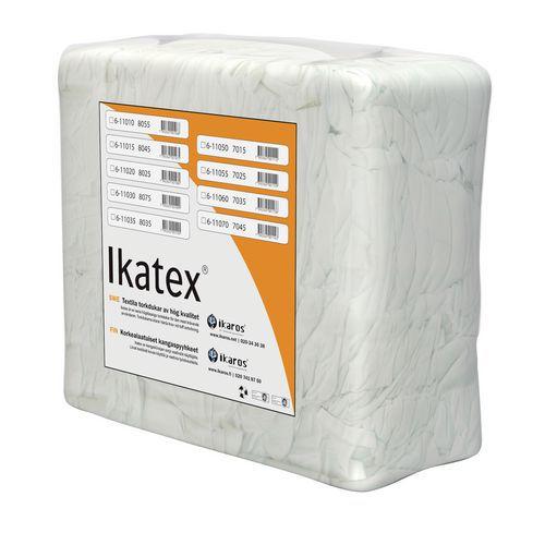 Ikatex 8045 Laken standard, hvite kluter i 10 kg bal