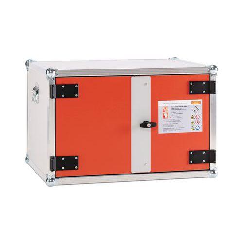 Oppbevaring- og ladeskap Premium Plus for Lithium-ion batterier
